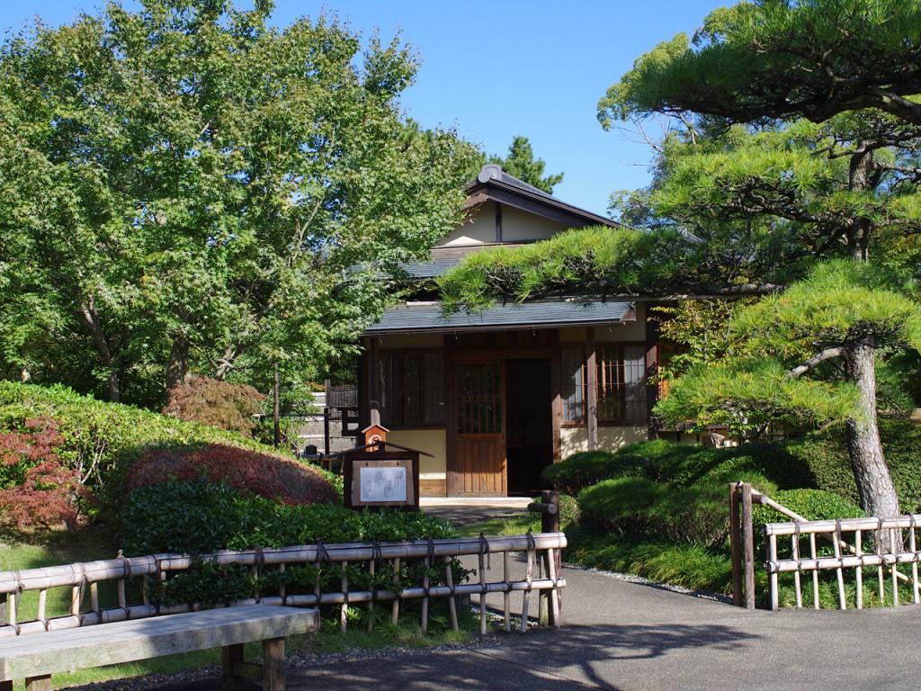駿府城公園 紅葉山庭園 立礼席外観写真