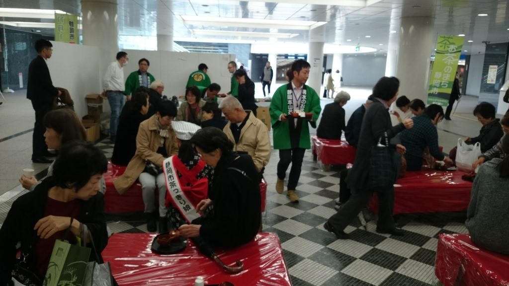 11月1日!静岡市「お茶の日」をエキチカでPR!!の画像