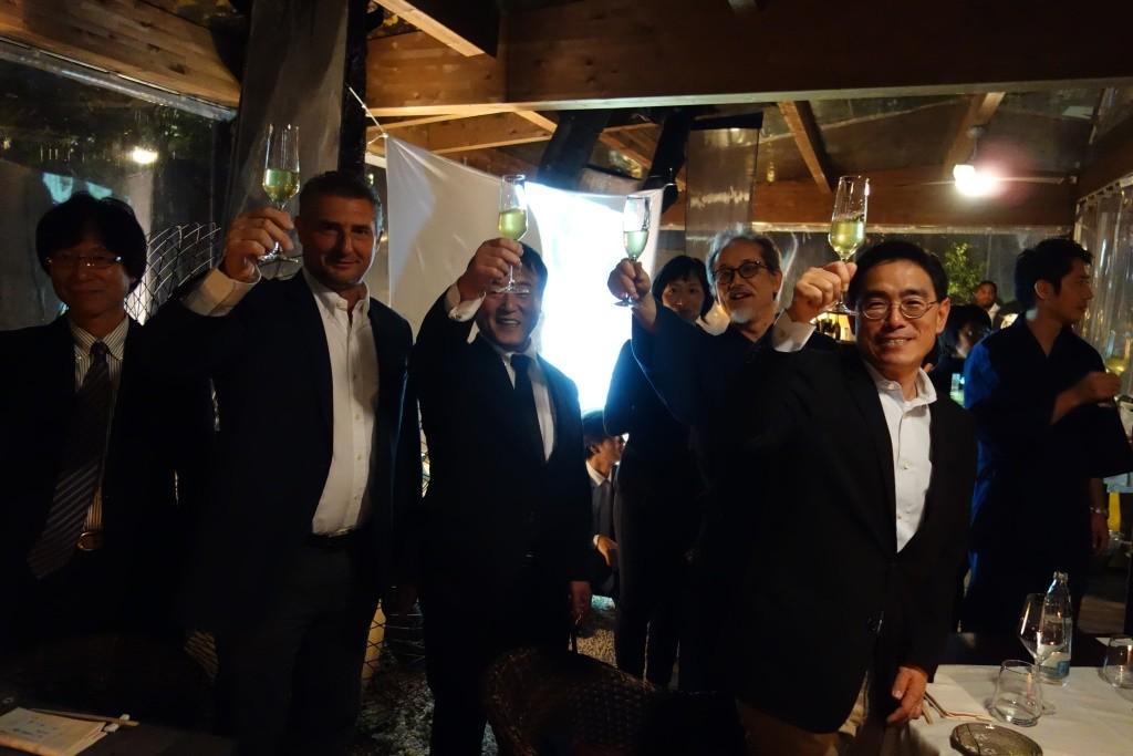 「静岡市のお茶」を海外へ!!         ミラノ・ベルリンプロモーション事業       【その② ミラノレセプション】の画像