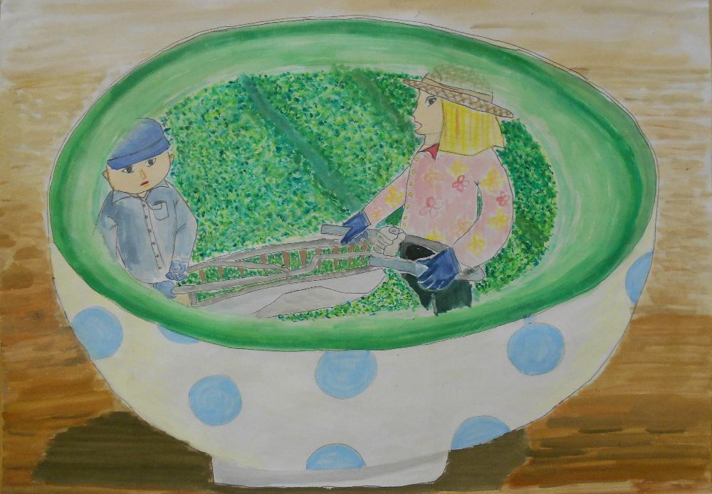 平成30年度静岡市「お茶の日」ポスターコンテスト 入賞作品決定!の画像