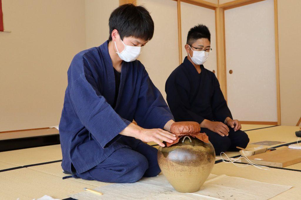 第38回駿府本山お茶壺道中行列「茶詰めの儀」が行われました!の画像