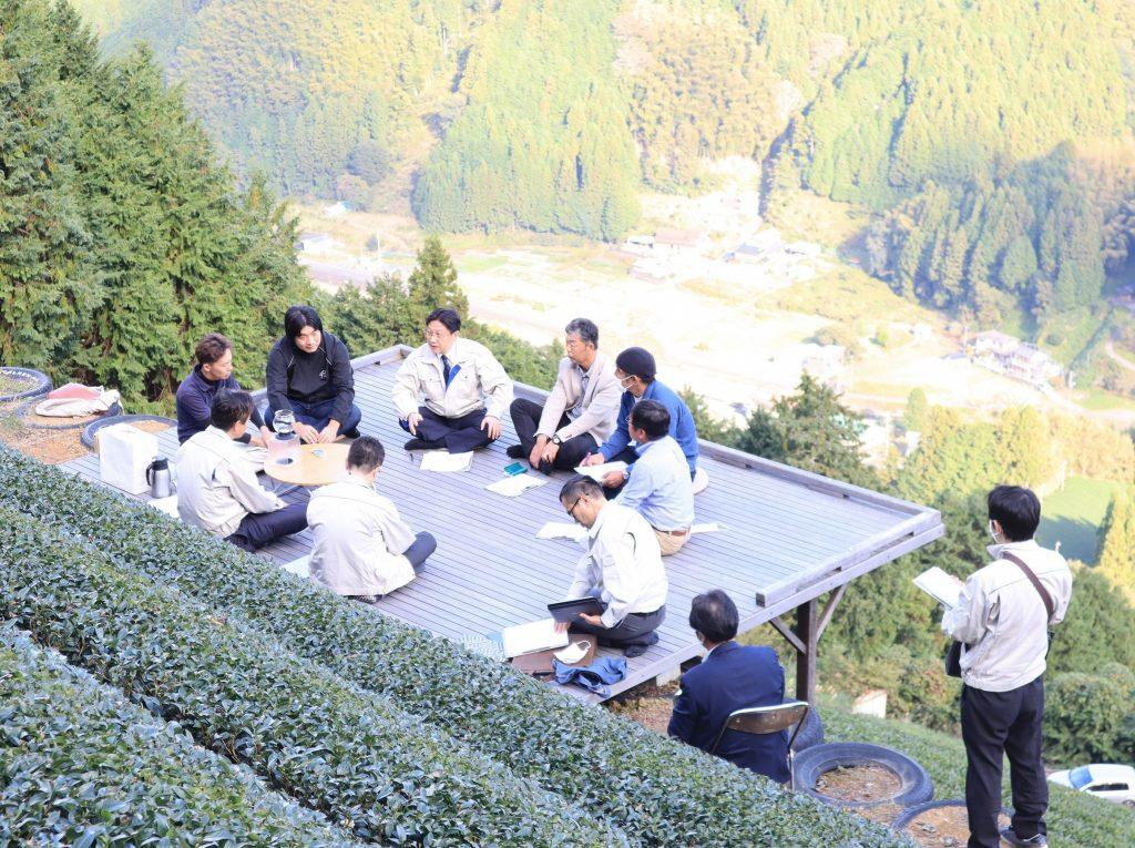 「天空の茶の間」にて市長ミーティング室開催!の画像