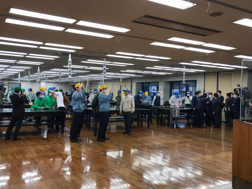 静岡茶市場 新茶初取引が行われました!の画像