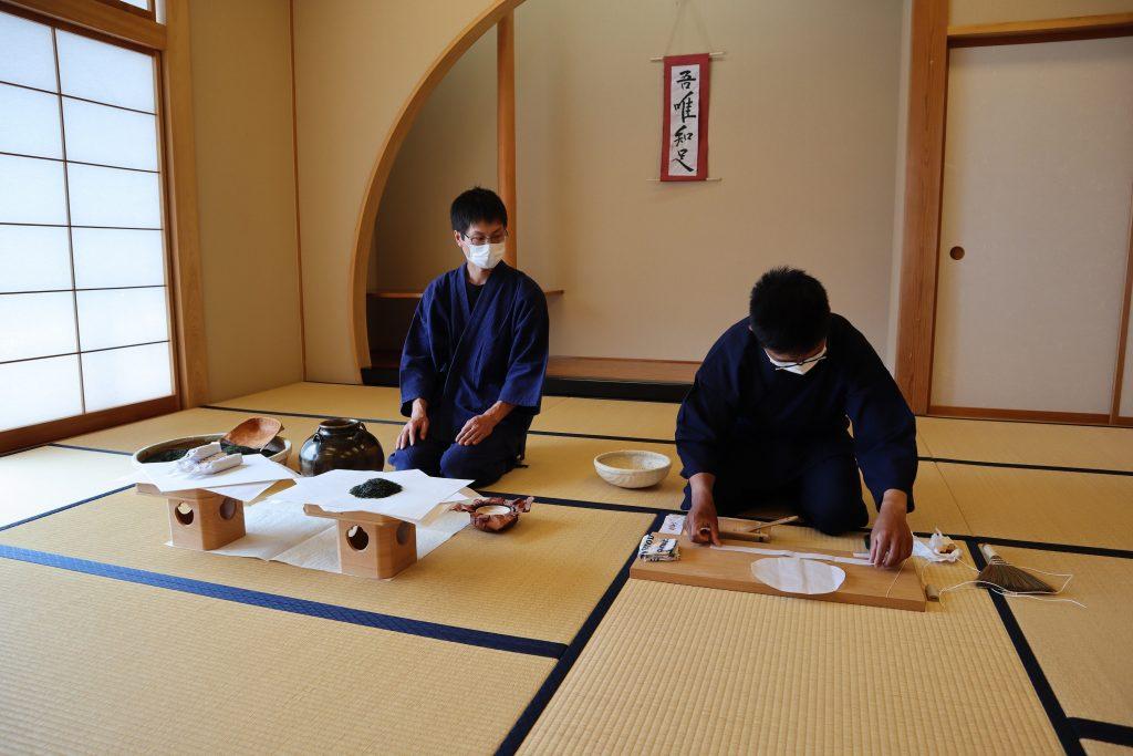 第39回駿府本山お茶壺道中行列「茶詰めの儀」が行われました!の画像